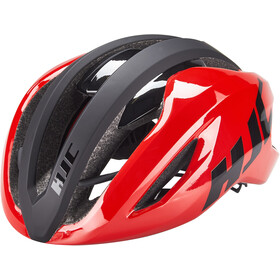 HJC Valeco Road Fietshelm, matt gloss red black